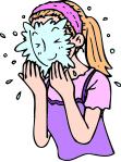 洗顔イラスト1
