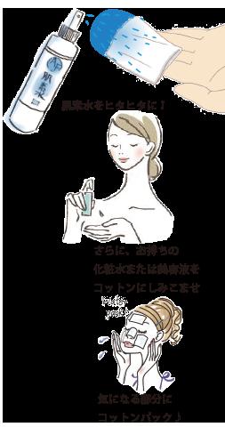 肌素水使い方19